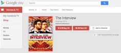 The Interview is now available on Google Play and YouTube Movies - https://www.aivanet.com/2014/12/the-interview-is-now-available-on-google-play-and-youtube-movies/
