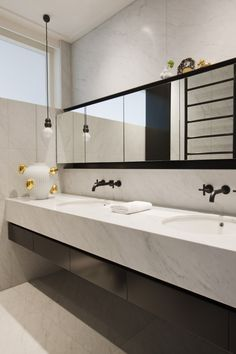 Gallery of Inspiration - Astra Walker carrara bathroom