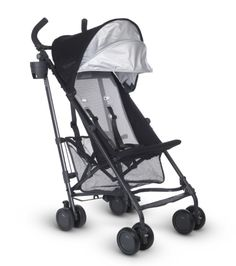 UPPAbaby G-LITE Stroller, Black/Carbon, Jake The UPPAbaby G-LITE is so lightweight and portable that it will surely become your favorite 'get around town' Uppababy Stroller, Pram Stroller, Bugaboo, Baby Strollers, Stroller Cover, Best Lightweight Stroller, Best Umbrella, Umbrella Stroller, Prams