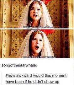 It would be soooo awkward.
