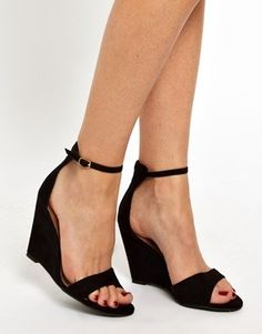 New Look Superior Single Sole Wedge Sandals at ASOS