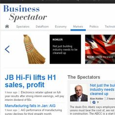 Digital bundle for The Australian and Business Spectator