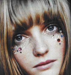 glitter festival makeup - Google Search
