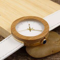 Brand 2017 BOBO BIRD Watch Women Bamboo Wood Watches Montre Femme Lady Quartz Wristwatch relogio feminino C-J27