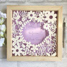 Away with the fairies...Back Soon my new favourite piece #papercut #papercutting #paper #papercutart #papercutartist #fairy #flowers #floral #quote #homedecor #handmade #handmadedecor #etsy #etsyuk #etsyseller #crafts #art #artwork #artoftheday #artoninstagram #instaart #ukartist