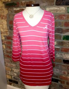 Ladies Cutter & Buck 3/4 Goal Line Tee with A logo