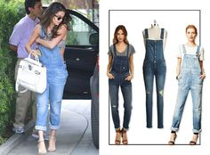 Jump Into the Jean Pool! Celebs' Favorite Denim Trends for Fall  Fall Denim, Overalls, Selena Gomez