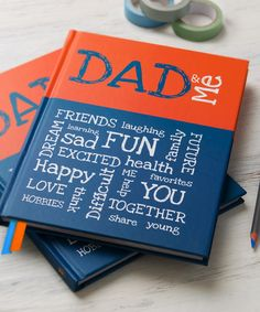 from you to me Dad & Me Memory Book | zulily