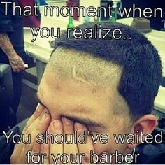 Ideas for haircut quotes funny hairdresser Hairstylist Memes, Hairstylist Problems, Hairdresser Quotes, Haircut Quotes Funny, Haircut Funny, Funny Quotes, Funny Hair, Barber Memes, Barber Quotes