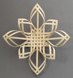 Woven Star Ornament, handcrafted in North Carolina (from Old Salem Museums & Gardens)