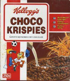 Choco Krispies ©2001 Kellog's Benelux
