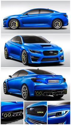 Images of the new Subaru WRX concept have leaked ahead of its debut in New York. #carsguide #subaru #wrx