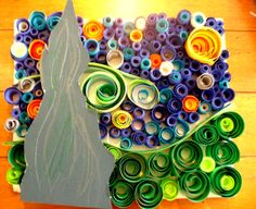 "Art Project Ideas | Designs By Alice - 4th Grade Art Project – ""Starry Night"""