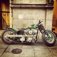 Bobber Inspiration | Harley bobber by gotzgoppert http://ift.tt/1depqNd | Bobbers and Custom Motorcycles
