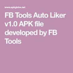 All APK shows: FB Tools v1 0 APK Free Download -allapkshows | FB