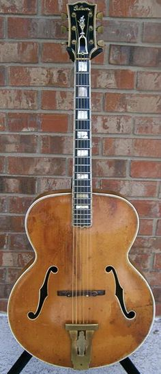Vintage 1939 Gibson L 5 Archtop Guitar (belonged to Nashville guitarist Jack Shook)