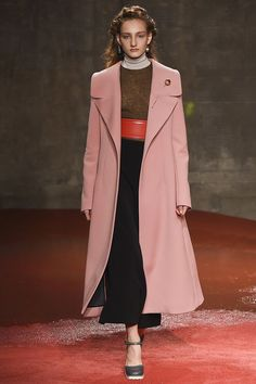 """Marni. F/W 2015 """"Floor Duster"""" length coats. D/n wear unless you are 6' tall!"""