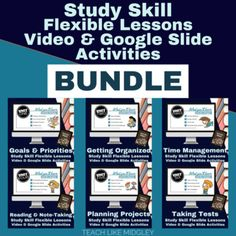 My Study Skills Curriculum is now available in a new digital flexible lesson plan format! Use these materials for Distance Learning, student enrichment, student support, and for absent students. You pick and choose which pieces will work best for your students. With flipped classroom videos, along w...  #studyskills #studyskillscurriculum #studyskillsformiddleschoolers #distancelearning #remotelearning #virtualteaching #teachlikemidgley Teaching 6th Grade, Teaching Secondary, Absent Students, Lesson Plan Format, Teaching Philosophy, Teaching Techniques, Learning Objectives, Middle School Teachers, Flipped Classroom