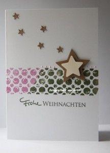 blog.karten-kunst.de - Schlichte Weihnachtskarte