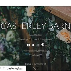 """""""#Repost @casterleybarn with @repostapp ・・・ We are now taking bookings from October 2017 for weddings, corporate and private events with additional wedding and event planning services available too!  Sign up at www.casterleybarn.co.uk to keep up to date or DM us at hello casterleybarn.co.uk.  #ecofriendly #ecobarn #wiltshire #wiltshireweddings #eventprofs #eventprofsuk #organicfarm #wildflowers 🌿"""" by @luxlivinglondon (luxlivinglondon). • • What do you think about this one? @dreamgateevents…"""