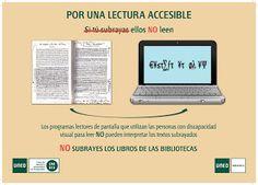 BiblioUNED abierta: No subrayes los libros