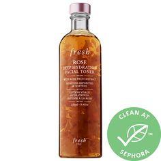 Fresh- Rose & Hyaluronic Acid Deep Hydration Toner