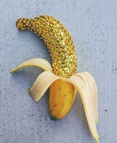 DIY Sequined Fruit
