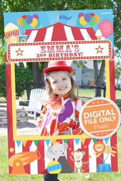 You can't have a carnival and not have a photo booth where you're guests can happily fool around whilst having their photo taken. It's a great keepsake they can take home to remember their fab day! See more party ideas and share yours at CatchMyParty.com Carnival Party Foods, Diy Carnival, Circus Carnival Party, Carnival Themes, Carnival Birthday, Circus Theme, Carnival Decorations, Carnival Photo Booths, Photo Booth Party Props