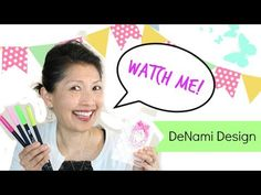 DeNami Design Blog: Facebook Live Videos and Wreath Card Project