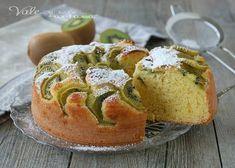 TORTA YOGURT E KIWI ricetta senza burro e olio, ricetta dolce leggero senza grassi, con tanto yogurt e tanta frutta fresca