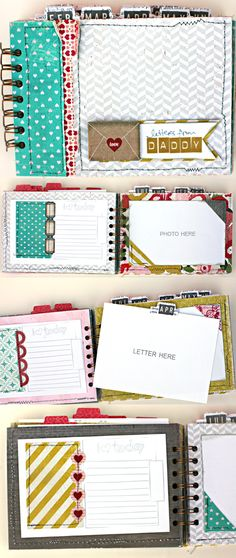 "This is a great idea to do with your kids. I will one day do this except it will say ""letters from mommy"" because I don't see my hubby writing any letters. LOL!"