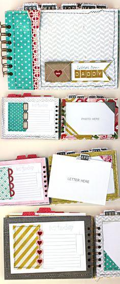 mini album by Shanna Noel using Crate Paper products www.shannanoel.com/ #scrapbooking #minis