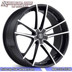 2Crave No.34 Gloss Black Machined Wheels & Rims