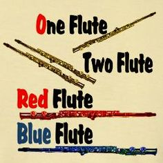 one flute 2 flutes
