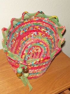I have wanted to post more pictures of my baskets inspired by how to sew a fabric bowl post. I had difficulty at first getting pictures to post and now that I have figured it out wanted to...