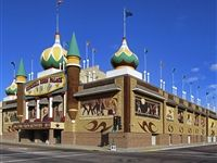 How many of you out there have been to the Corn Palace? Oh yeah....