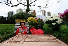 Ayrton Senna - Auto Race Driver. Ayrton Senna da Silva was the world's fastest Grand Prix driver in the 1980's and 1990's. His Formula One racing career began in Brasil in 1984 and ended in San Marino in 1994. He died from injuries sustained in a high speed crash at the Tamburello corner at the Autodromo Enzo e Dino Ferrari Circuit at Imola, located in the tiny principality of San Marino in the north east of Italy, while leading the race.