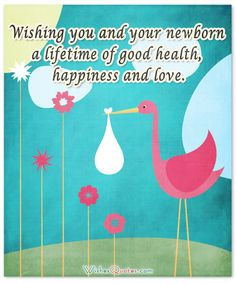 Image with Cute Newborn Baby Wishes