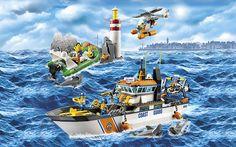LEGO® City Coast Guard 60014 Coast Guard Patrol