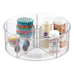 InterDesign Clear Linus Divided Lazy Susans InterDesign Clear Linus Divided Lazy Susans - Own Kitchen Pantry Pantry Storage, Storage Containers, Kitchen Storage, Kitchen Pantry, Kitchen Ideas, Tea Storage, Freezer Storage, Organized Kitchen, Kitchen Reno