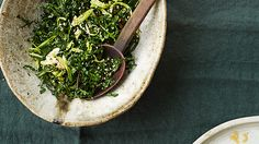 Kale Salad with Sesame Dressing Recipe