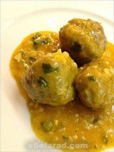 Recetas de Tetuan por Raquel Moryoussef de Fhima: Albóndigas de carne al limón