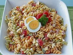 Murmels Nudelsalat Murmels Pasta Salad, a great recipe from the category of eggs & cheese. Ratings: Average: Ø Summer Dessert Recipes, Healthy Summer Recipes, Dinner Recipes, Great Recipes, Keto Recipes, Eggplant Dishes, Easy Summer Meals, Daily Meals, Nutritious Meals