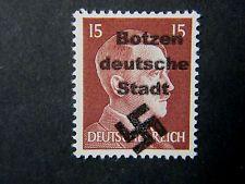Local Deutsches Reich WW II Occupation overprint Botzen MNH