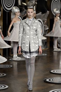 Look 4 Thom Browne Spring 2013