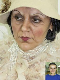 Clase de demostración del curso TECNICAS DE 2º NIVEL #makeupforever #teatro…