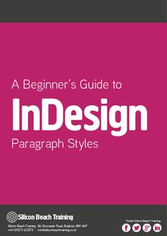 Download our Free InDesign Paragraph Style Sheets eBook