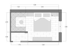 Resultado de imagen para cabina armadio camera piccola quadrata