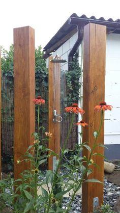 Endlich fertig! Gartendusche, shower garden, outdoor shower, diy Projekt