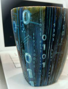 Custom Hand Painted Ceramic Mug - Dishwasher & Microwave Safe  https://www.etsy.com/shop/vesnadelevska?ref=si_shop